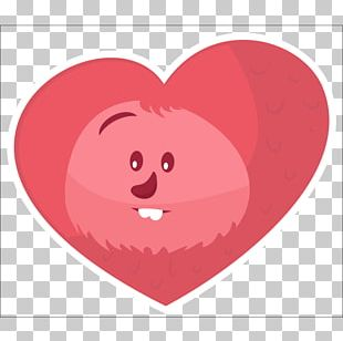 Valentine's Day Character Heart PNG