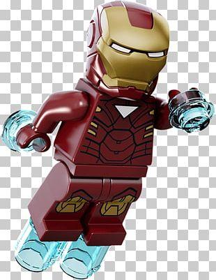 Iron Man Lego Marvel Super Heroes Lego Marvel's Avengers Lego Minifigure PNG