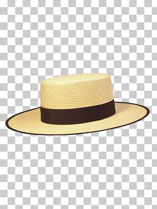 Straw Hat Panama Hat Fashion Dress PNG