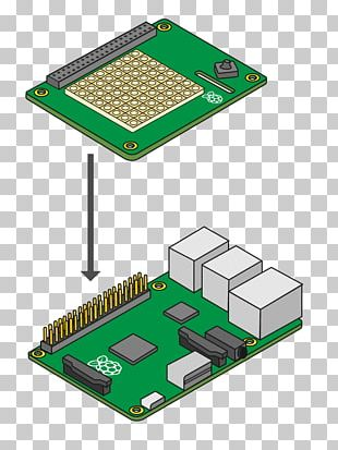 Microcontroller Raspberry Pi 3 Hat Electronics PNG