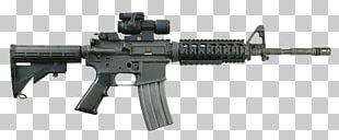 AR-15 Style Rifle Firearm Assault Rifle M4 Carbine Service Rifle PNG