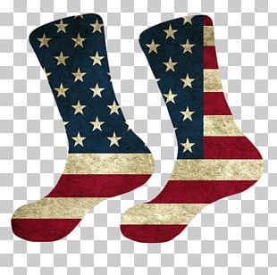 Flag Of The United States T-shirt Sock PNG