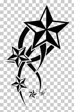 Nautical Star Tattoo Artist Drawing PNG