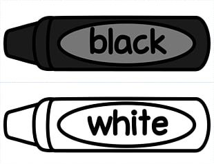 Crayon Black And White Drawing Crayola PNG