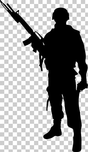 Soldier Silhouette Photography PNG