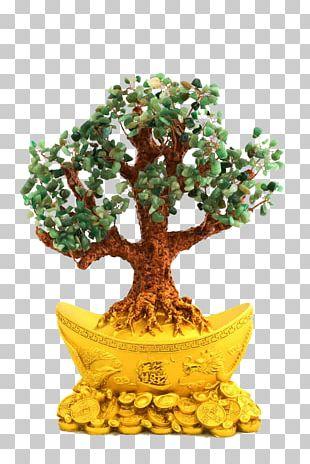 Bonsai Tree Flowerpot PNG