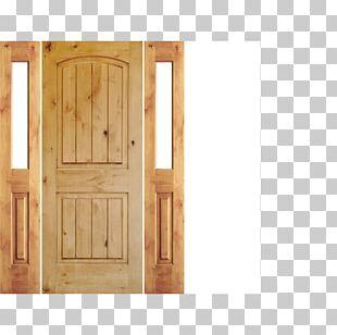 Door Hardwood Inswinger Wood Stain PNG