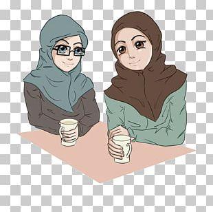 Muslim Islam Hijab Mumin Comics PNG