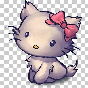Art Carnivoran Kitten Violet PNG