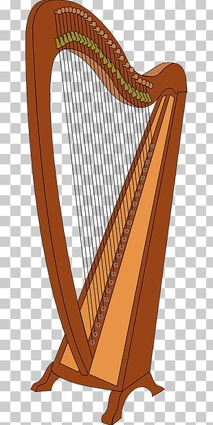 Harp Musical Instrument PNG