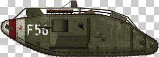 Churchill Tank First World War Mark V Tank Female Tank PNG