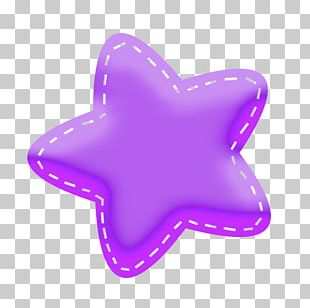 Mulberry Star Color PNG