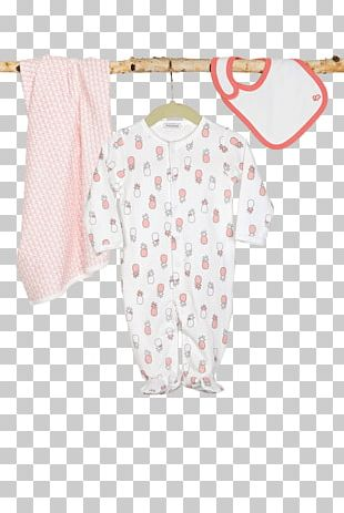 Baby & Toddler One-Pieces T-shirt Polka Dot Shoulder Sleeve PNG