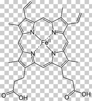 Heme Hemoglobin Porphyrin Coordination Complex Hemin PNG