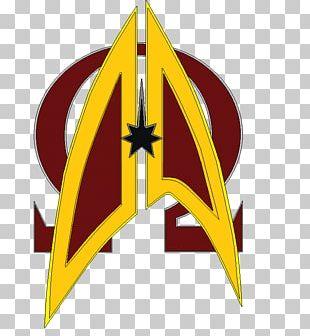 Logo United Federation Of Planets Starfleet Star Trek Klingon PNG