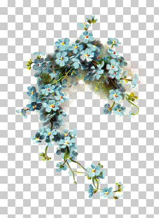 Wedding Invitation Flower Blue Vintage Clothing PNG