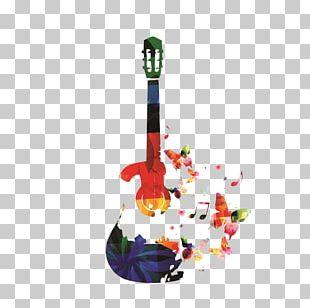Guitar Musical Instrument Illustration PNG