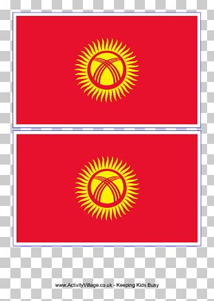 Kyrgyzstan Graphic Design National Flag PNG