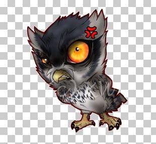 Owl Bird Digital Art PNG