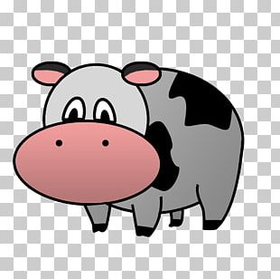 Domestic Pig Cattle Snout Nose PNG