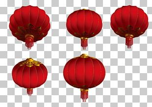 Lantern Red Mid-Autumn Festival PNG