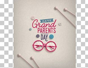 National Grandparents Day Greeting & Note Cards PNG