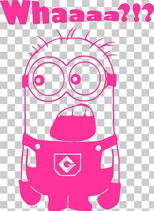 Decal Bumper Sticker Minions Stuart The Minion PNG