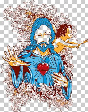 Jesus T-shirt Illustration PNG