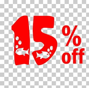 New Year Sale 15% Off Discount Tag. PNG