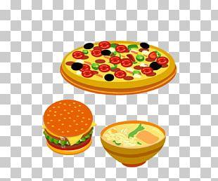 Hamburger Vegetarian Cuisine Pizza Cheeseburger Fast Food PNG