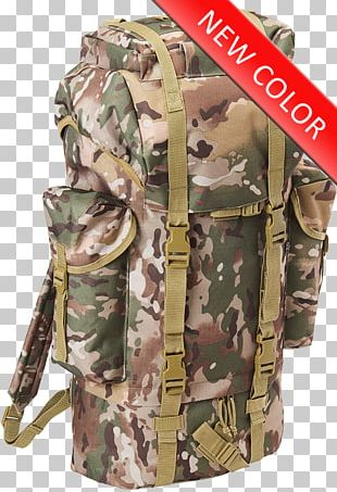 Backpack Camouflage Combat Boot Flecktarn Clothing PNG