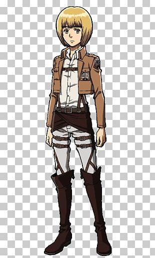 Armin Arlert Eren Yeager Mikasa Ackerman Levi Reiner Braun PNG