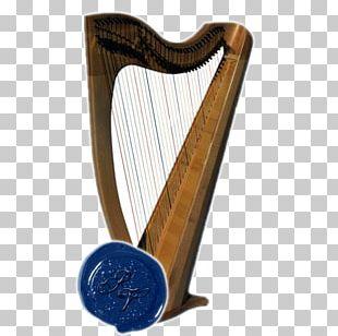 Konghou Lyre Harp PNG