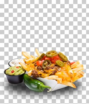 Nachos French Fries Hamburger Fast Food Poutine PNG