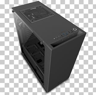 Computer Cases & Housings Power Supply Unit NZXT S340 Elite ATX Mid Tower CA-S340W-B5 NZXT S340 ATX Mid-Tower Case CA-S340 PNG
