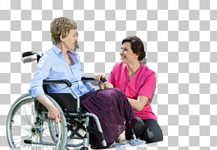 Wheelchair Caregiver Old Age Health Care Home Care Service PNG