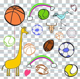 Ball Game Cartoon Sport Illustration PNG