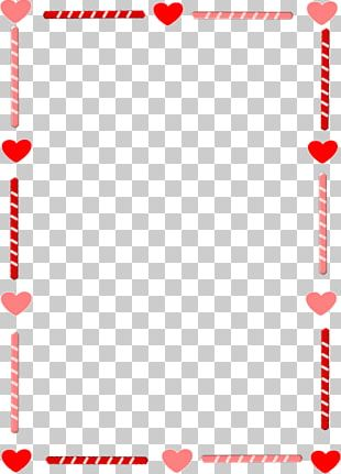 Right Border Of Heart Valentines Day PNG