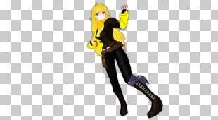 Yang Xiao Long Rendering Under Night In-Birth MikuMikuDance PNG