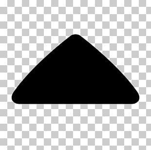 Caret Arrow Symbol Triangle PNG