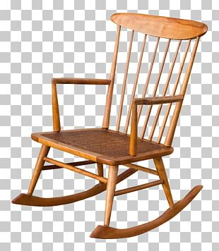 Rocking Chairs Table Danish Modern Mid-century Modern PNG