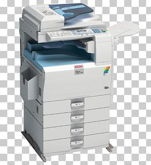 Photocopier Multi-function Printer Ricoh Printing PNG