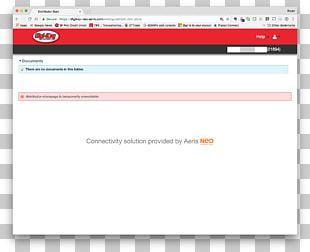 Web Page Computer Program Screenshot PNG