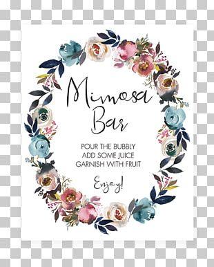 Wedding Invitation Baby Shower Boho-chic Gift PNG