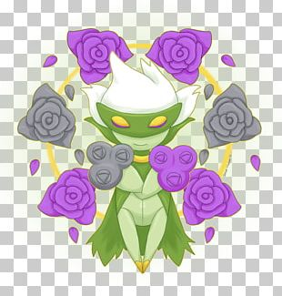 Roserade Pokémon X And Y Floral Design Roselia PNG