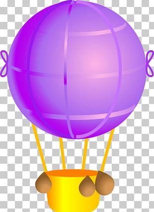 Hot Air Balloon Aerostat Toy Balloon PNG