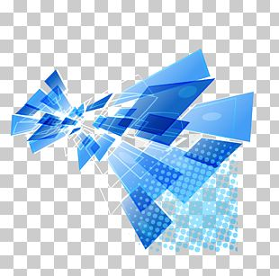 Modern Blue Background PNG
