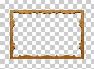 Paper Frames Framing Wood PNG