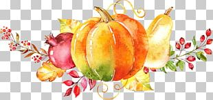Watercolor Painting Autumn PNG