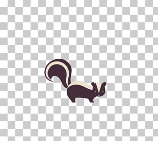 Striped Skunk Siberian Weasel PNG
